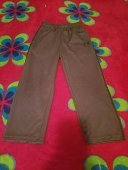 Under Armour Athletic Pants Boys Gray Size 4T 100% Polyester