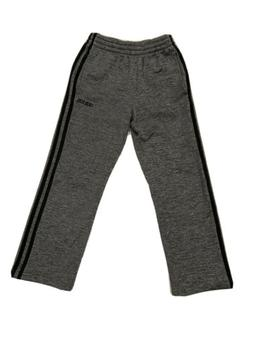 Adidas Athletic Sweat Pants Gray Boys Size 8 Excellent Condi