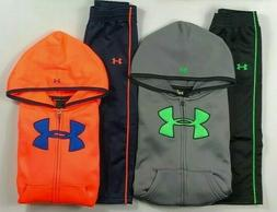 Baby Boy's Infant Under Armour Full Zip Hoodie and Pants 2 P
