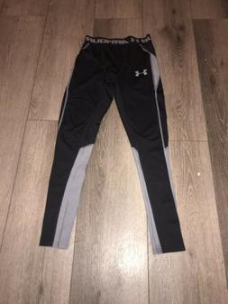 Boy's Under Armour Athletic Fitted Leggings Pants Size Mediu