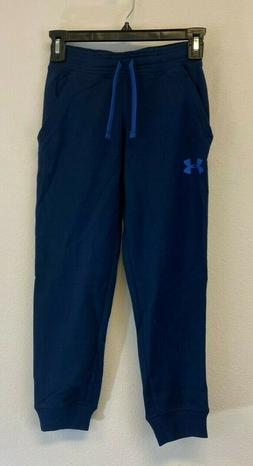Under Armour Boy's Cotton French Terry Joggers Big Kids Acad