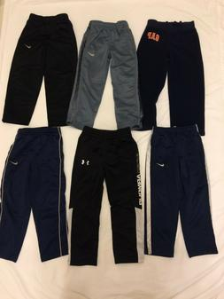 Boy's SIZE 4 Athletic Pants Joggers Lot~ALL NIKE & UNDER ARM
