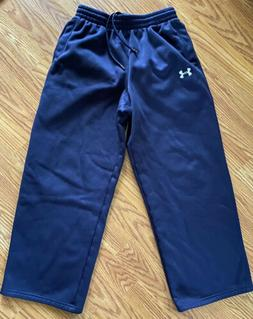 Boy's UNDER ARMOUR Size Youth Large  Blue Athletic Sweat Pan