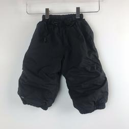 REI Boys 18 months Black Snow Pants Outdoors Sports Insulate