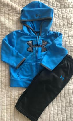 Under Armour Boys 18M 24M Hoodie And Pants Track Set