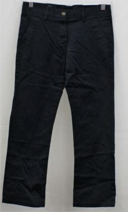 Chaps Boys' Approved Schoolwear Navy Flat Front Pants Size 1
