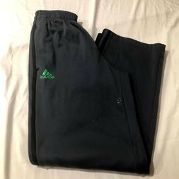 Adidas Boys Athletic Pants Gray With Black Stripes Size Yout