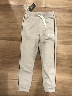 Under Armour Boys Fitted  Drawstring Sweatpants Size Medium