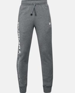 Boys' Under Armour Rival Fleece Joggers.Youth XLarge.Pitch G