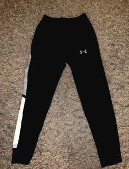 Under Armour Boys Sweat Pants Black Size Youth Medium Fitted
