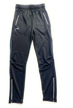 PUMA  boys' Training Pants with 2 Side Pockets with Zipper