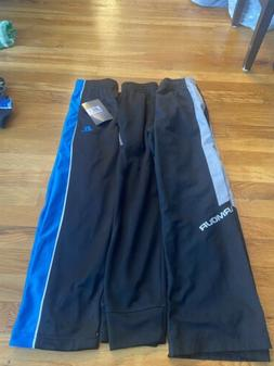 Boys under armour Y/MD ,Russell Size 8 Pants New W/tags Cham
