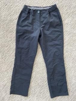 Boys Youth Under Armour Pants Chinos Dress Casual Black EEEU