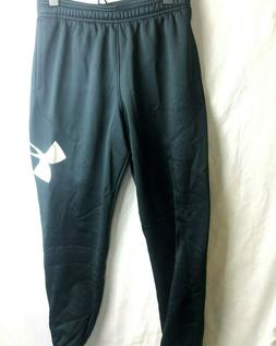 Under Armour Coldgear Storm Big Logo Joggers YLG Large Youth