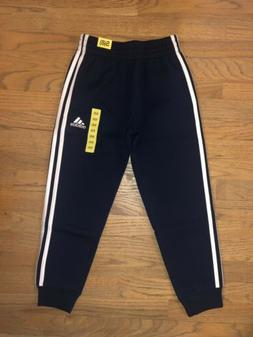 Adidas Joggers Boys Size 8 Small Navy Blue Athletic Pants NW