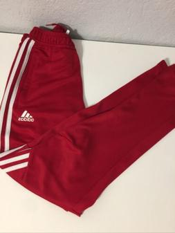 Kids Adidas Soccer Athletic Pants SZ M  Red/White