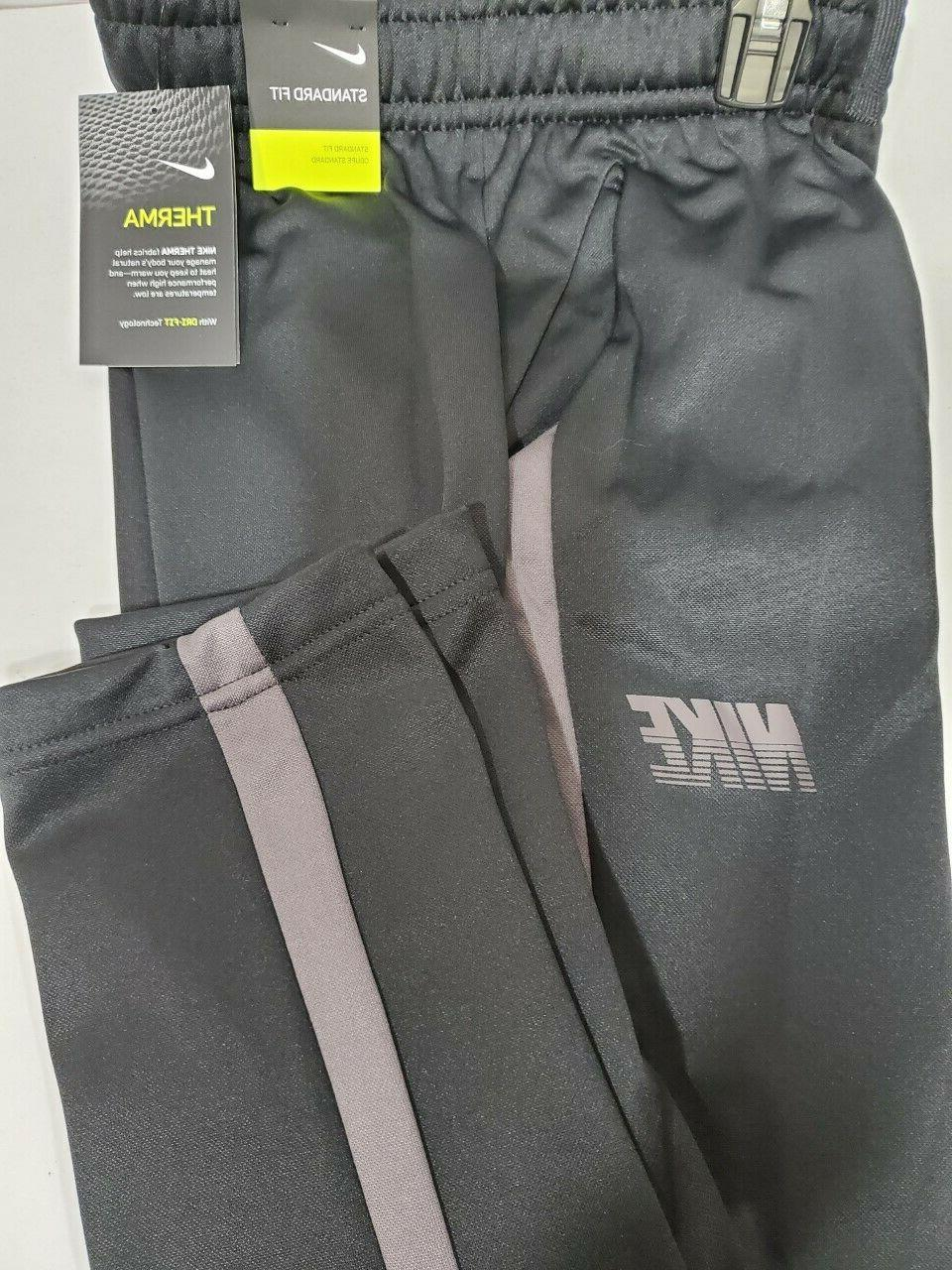 boys kids youth therma pants new black