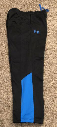 Under Armour~Boys Pants Youth Size Large~Black Pull On Track