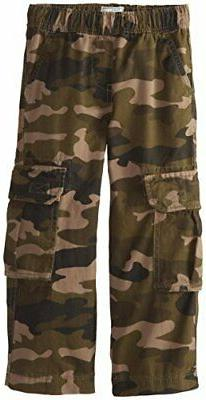 The Children's Place Boys' Uniform Pull On Chino Cargo Pants