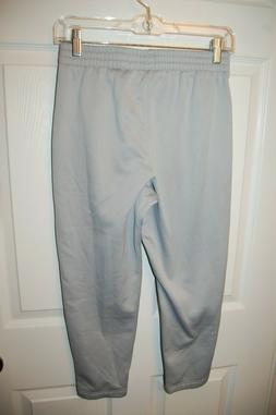 NEW UNDER ARMOUR GRAY JOGGERS 12 14 YLG LG L BOYS SWEAT PANT