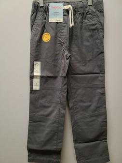 NEW New Boys' Stretch Straight Fit Pull-On Woven Pants - Cat