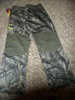 UNDER ARMOUR New NWT Boys Youth Hunt Pants Camo Camouflage C