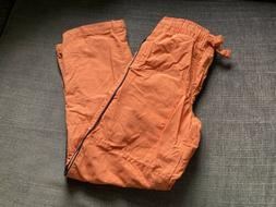 Gymboree New Without Tags Orange Mesh Lined Pants Size 7