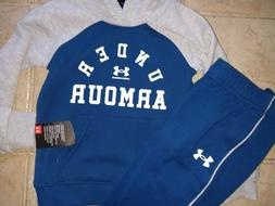 NWT Boy's Under Armour Hoodie and Sweat Pants Set - 2-Pieces