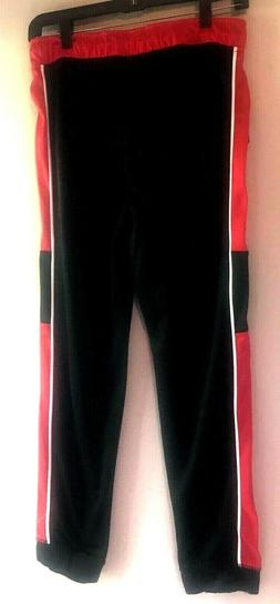 NWT  Body Glove Boys Activewear Pants Quick Dry  Black Red W
