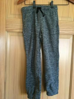 NWT Gymboree Boys Pull on Pants Fleece Charcoal Gray Outlet