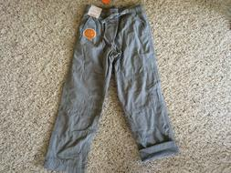 NWT Gymboree Boys Pull on Pants Gray Jersey Lined Gymster Bu