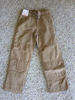 NWT Gymboree Boys Pull on Pants Khakis Jersey Lined Gymster