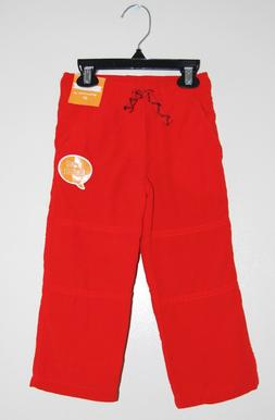NWT Gymboree Infant & Toddler Boys Bright Red Fleece-Lined T
